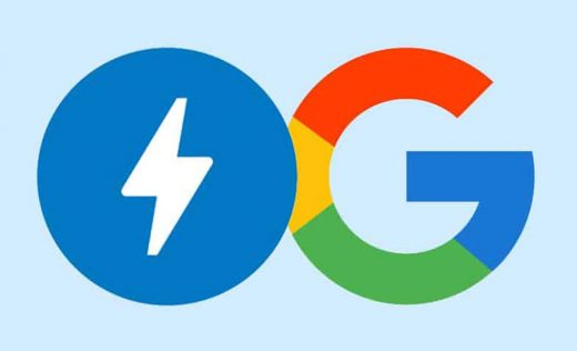AMP and Google Mail logo as the featured image of