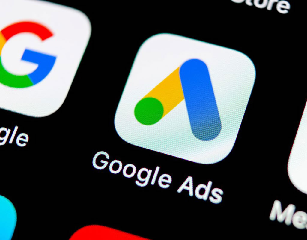 """Google Ads logo that means """"how google ads help your business""""."""